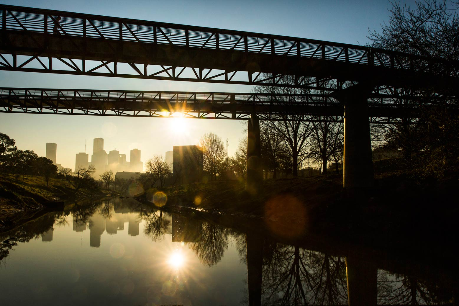 Houston's $800 million river restoration to trigger $56 billion private investment.