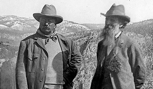 John Muir & Teddy Roosevelt