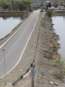Clover Causeway - before