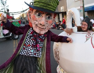 Mad Hatter Mascot with Tea Pot-30