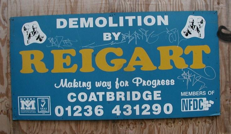 Demolition - Glasgow