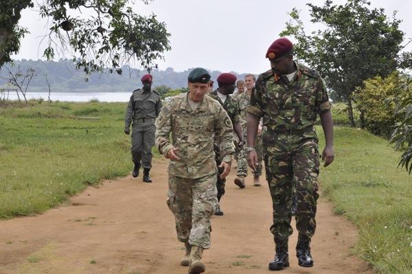 Green Berets in Uganda