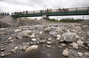HOWLAND, MAINE -- 06/14/2016 -- The completion of the Howland dam bypass marks the last major milestone in the Penobscot River Restoration Project that started over 10 years ago. Gabor Degre | BDN