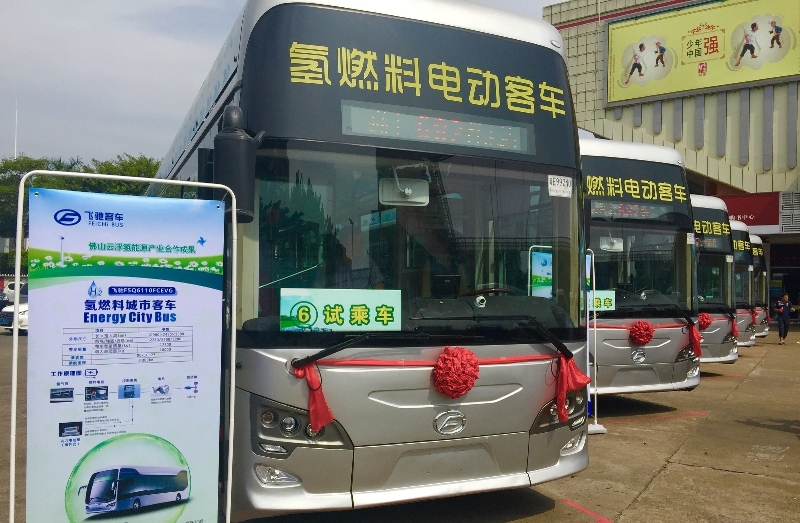 Sustainable urban renewal in China is increasingly hydrogen