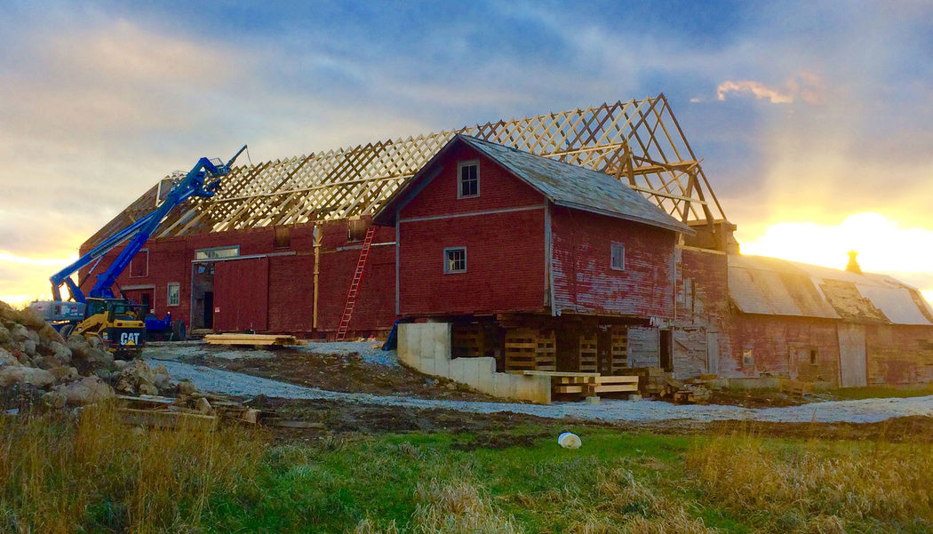 Vermont dairy entrepreneurs repurpose and restore historic barns to