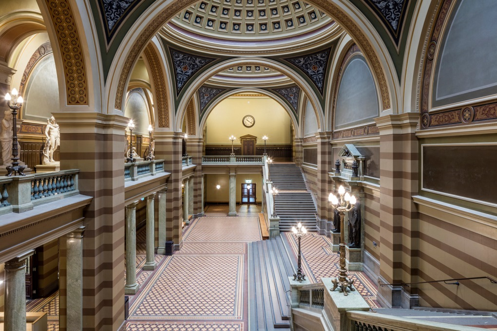 A beautiful restoration is completed at Uppsala University